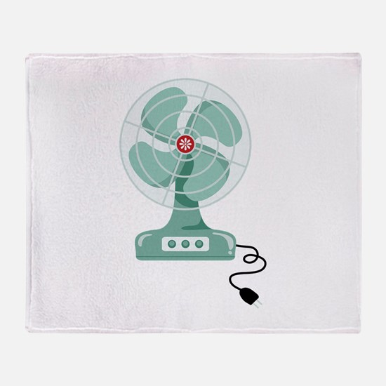 Household Fan Throw Blanket