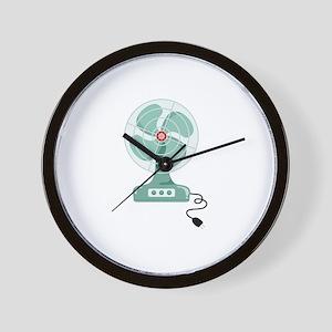 Household Fan Wall Clock