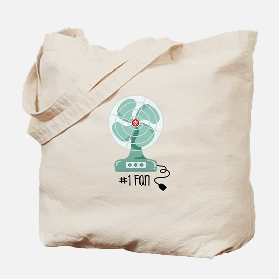 Number One Fan Tote Bag