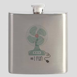 Number One Fan Flask