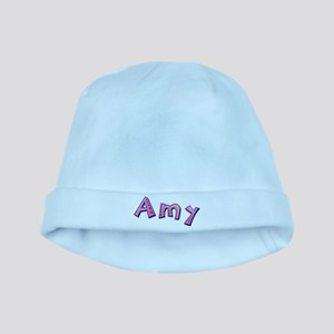 Amy Pink Giraffe baby hat