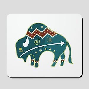 Native Buffalo Design Mousepad