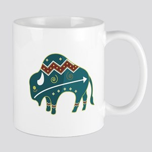 Native Buffalo Design Mug