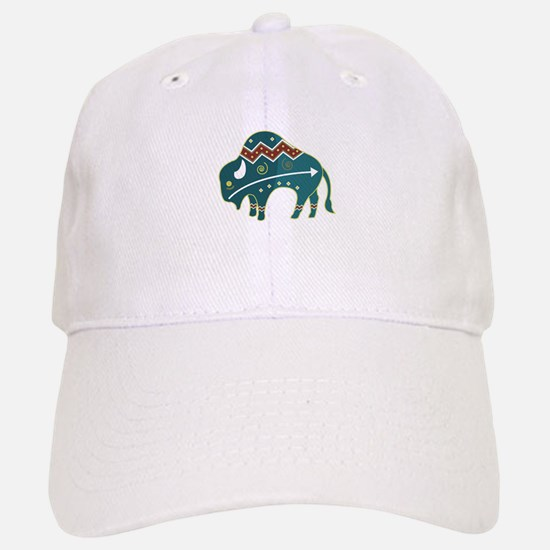 Native Buffalo Design Baseball Baseball Cap