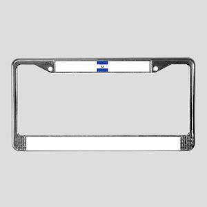 Flag of El Salvador License Plate Frame