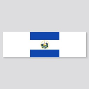 Flag of El Salvador Bumper Sticker