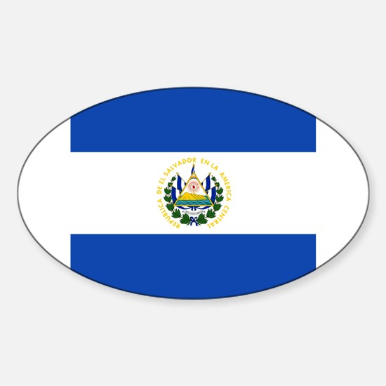 Flag of El Salvador Decal