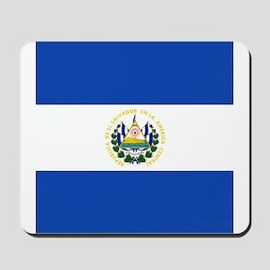 Flag of El Salvador Mousepad