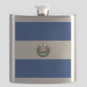 Flag of El Salvador Flask