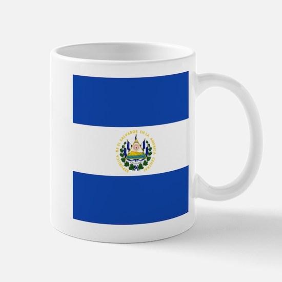 Flag of El Salvador Mugs