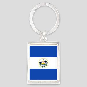 Flag of El Salvador Keychains