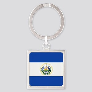 Flag of El Salvador Keychains