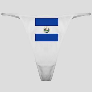 Flag of El Salvador Classic Thong
