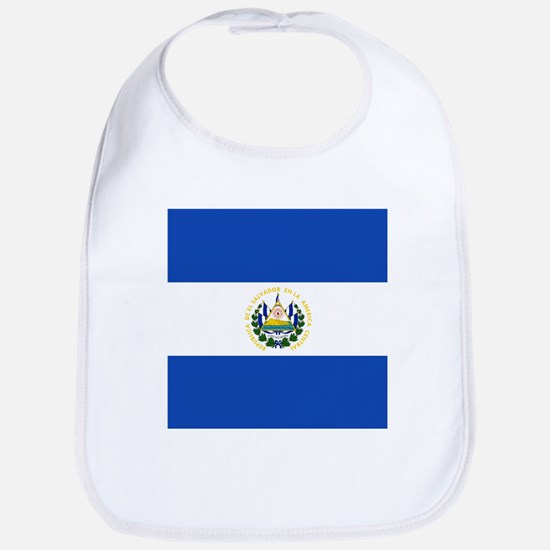 Flag of El Salvador Bib