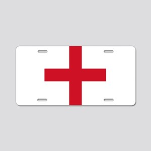 Flag of England - St George Aluminum License Plate
