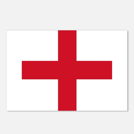 Flag of England - St George Postcards (Package of