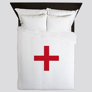 Flag of England - St George Queen Duvet