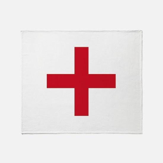 Flag of England - St George Throw Blanket