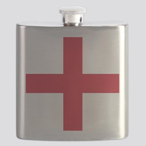 Flag of England - St George Flask