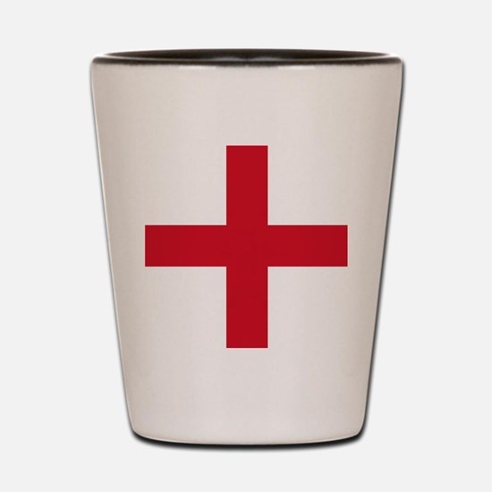 Flag of England - St George Shot Glass