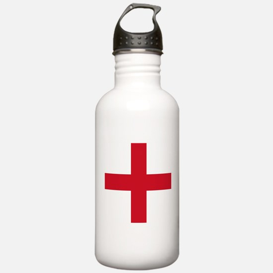 Flag of England - St George Sports Water Bottle