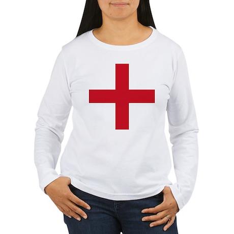 Flag of England - St George Long Sleeve T-Shirt