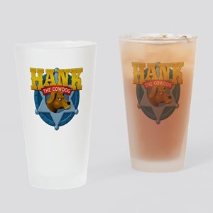 Official Hank Logo Drinking Glass