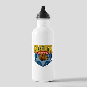 Official Hank Logo Water Bottle