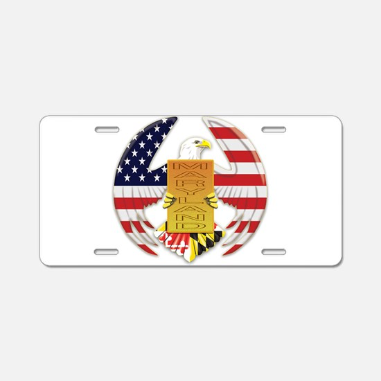 AMERICAN EAGLE Aluminum License Plate