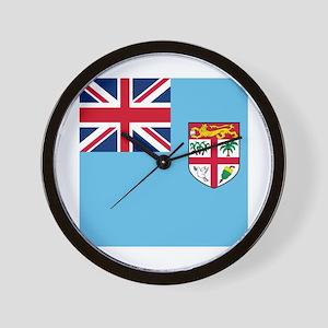Flag of Fiji Wall Clock