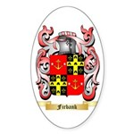 Firbank Sticker (Oval 50 pk)