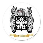 Fiorucci Round Car Magnet