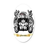 Fiorotto Oval Car Magnet