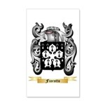 Fiorotto 20x12 Wall Decal