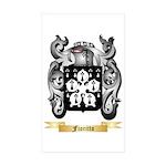 Fioritto Sticker (Rectangle 50 pk)
