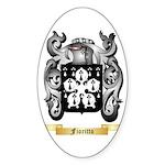 Fioritto Sticker (Oval 50 pk)