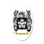 Fioritto 20x12 Oval Wall Decal
