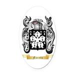 Fioretto Oval Car Magnet