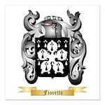 Fioretto Square Car Magnet 3