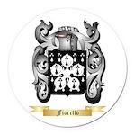 Fioretto Round Car Magnet
