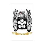 Fioretto Sticker (Rectangle 50 pk)