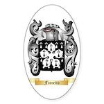Fioretto Sticker (Oval 10 pk)