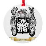Fioretti Round Ornament
