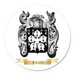 Fioretti Round Car Magnet