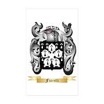 Fioretti Sticker (Rectangle 10 pk)
