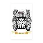 Fioretti Sticker (Rectangle 50 pk)