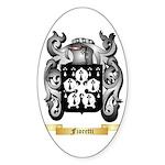 Fioretti Sticker (Oval 50 pk)