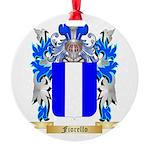 Fiorello Round Ornament