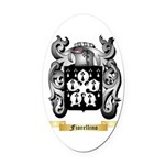 Fiorellino Oval Car Magnet