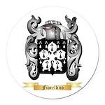 Fiorellino Round Car Magnet